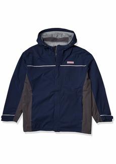 Vineyard Vines Men's Nor'easter Rain Shell Jacket  M