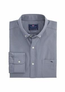 Vineyard Vines Men's Russet Performance Classic Fit Tucker Shirt