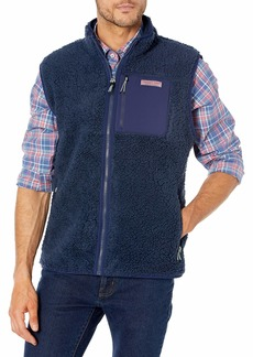 Vineyard Vines Men's Sherpa Vest  LG