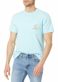 Vineyard Vines Men's Short Sleeve 19th Hole Pocket T-Shirt
