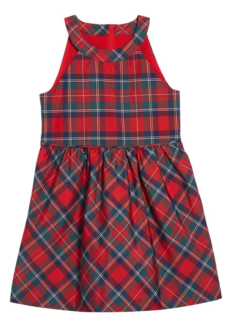 vineyard vines Merry Plaid Party Dress (Toddler Girls, Little Girls & Big Girls)