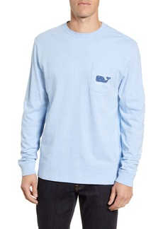 vineyard vines Mini Snowflakes Long Sleeve Pocket T-Shirt