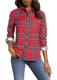 vineyard vines Morgan Jolly Plaid Flannel Shirt