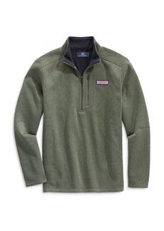 Vineyard Vines Mountain Fleece Half-Zip Sweater