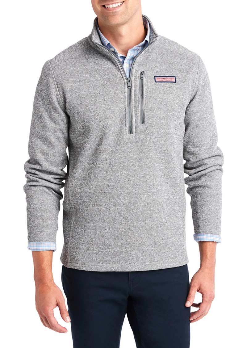 vineyard vines Mountain Quarter Zip Fleece Sweater