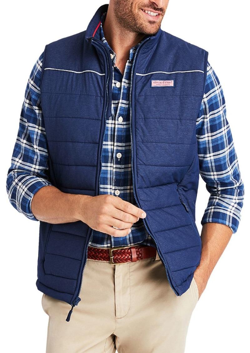 Vineyard Vines Mountain Weekend Slim Fit Puffer Vest