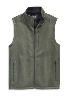 Vineyard Vines Mountain Zip Front Sweater Vest