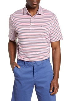 vineyard vines Multi Catonic Regular Fit Stripe Polo