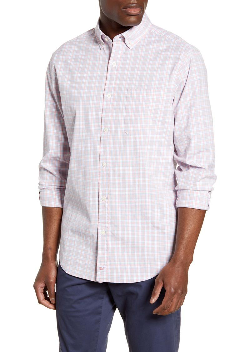 vineyard vines Murray Classic Fit Pastel Check Button-Down Shirt