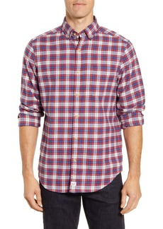 vineyard vines Murray Classic Fit Plaid Stretch Flannel Button-Down Shirt