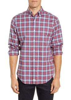 vineyard vines Murray Classic Fit Plaid Stretch Flannel Button-Down Shirt