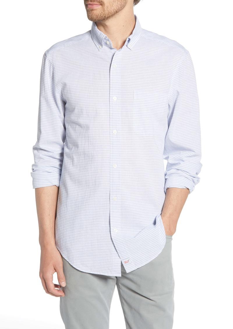 vineyard vines Murray Classic Fit Stripe Button-Down Shirt