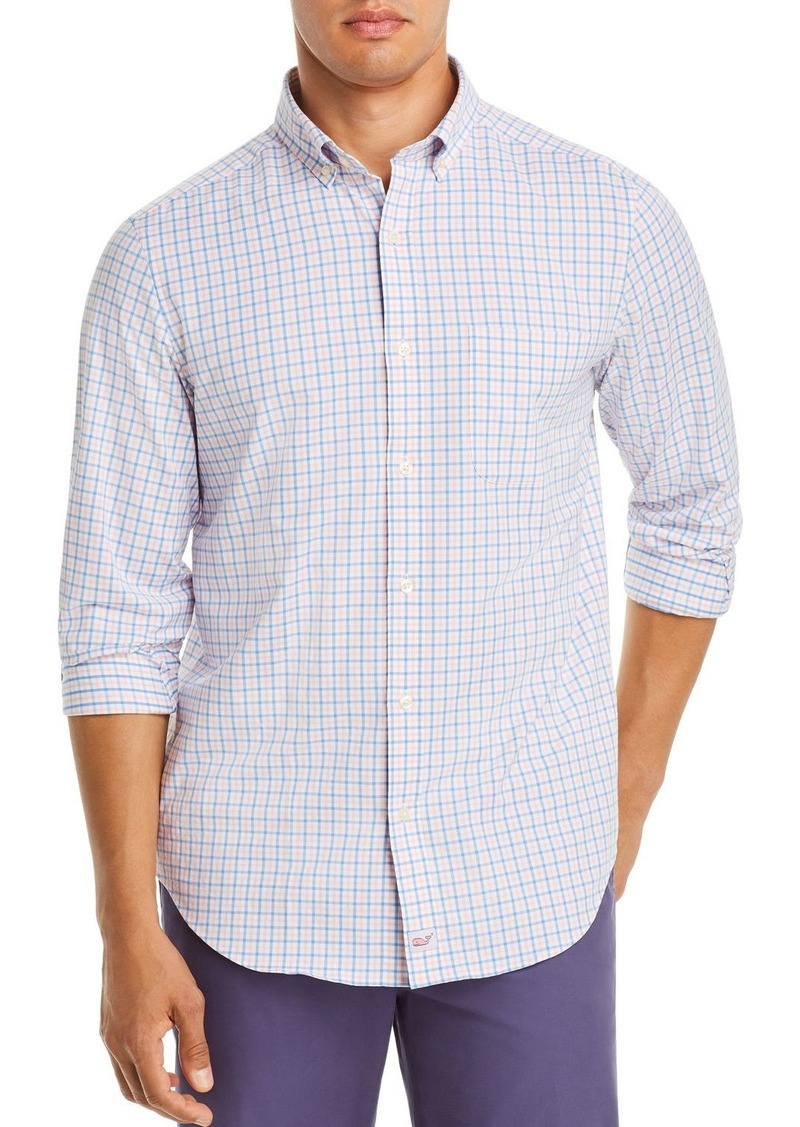 Vineyard Vines Murray Performance Plaid Twill Classic Fit Button-Down Shirt