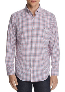 Vineyard Vines Murray Performance Tattersall Classic Fit Button-Down Shirt