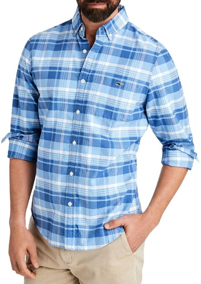 Vineyard Vines Murray Plaid Slim Fit Button-Down Shirt