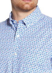vineyard vines Murray Classic Fit Floral Short Sleeve Button-Down Shirt