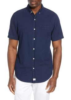 vineyard vines Murray Slim Fit Indigo Dobby Shirt