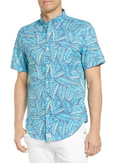 vineyard vines Murray Slim Fit Island Palms Sport Shirt