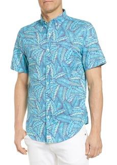 vineyard vines Murray Slim Fit Island Palms Sport Shirt