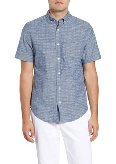 vineyard vines Murray Slim Fit Short Sleeve Button-Down Sport Shirt