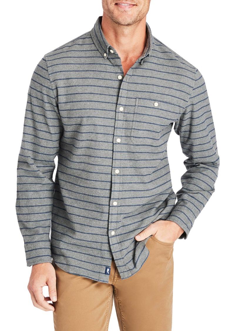 vineyard vines Murray Slim Fit Stripe Flannel Button-Up Shirt