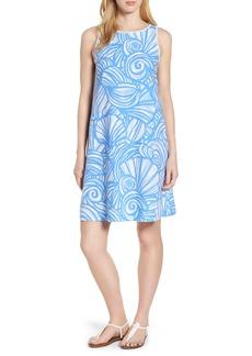 Vineyard Vines Nautilus Print Shift Dress