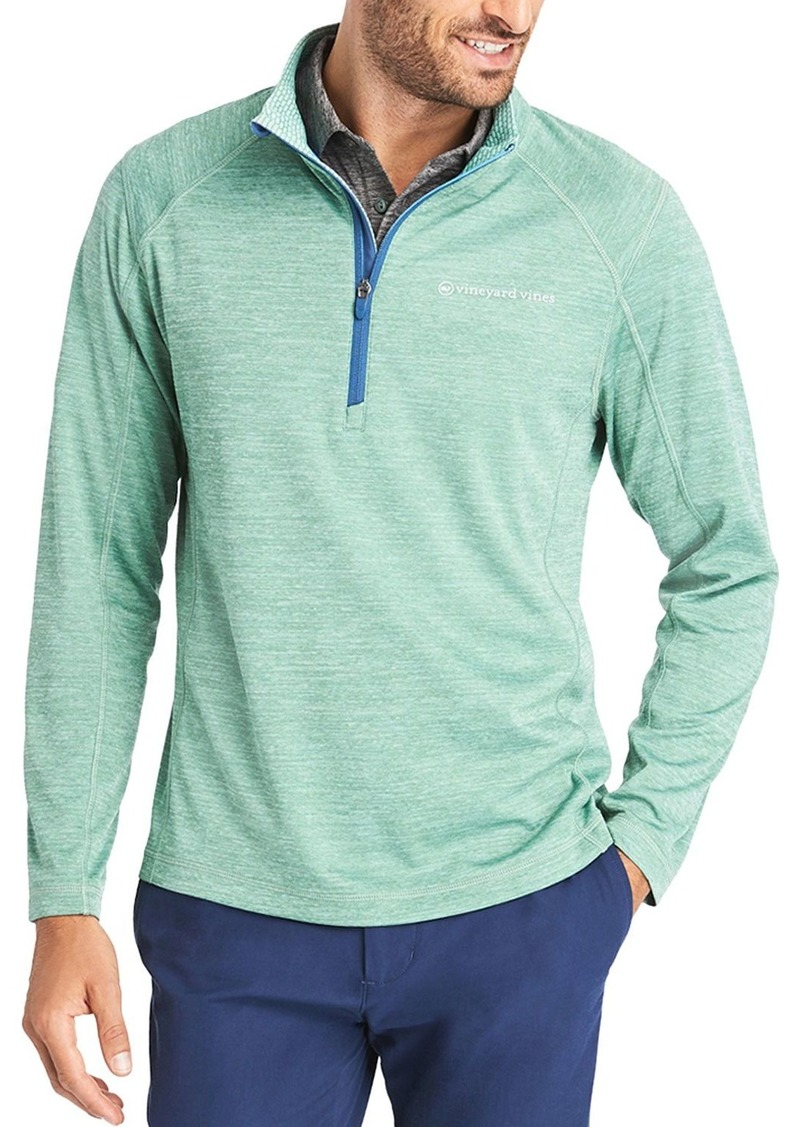 Vineyard Vines New Sankaty Quarter-Zip Sweater