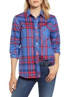 vineyard vines Northern Plaid Performance Flannel Shirt