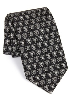 vineyard vines Oakland Raiders - NFL Woven Silk Tie