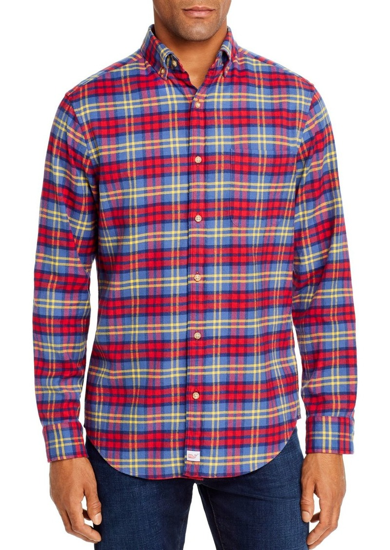 Vineyard Vines Offshore Flannel Classic Fit Button-Down Shirt