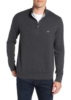 vineyard vines Palm Beach Quarter-Zip Sweater