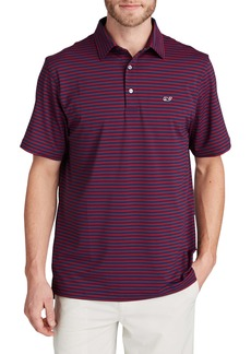 vineyard vines Palmetto Stripe Sankaty Polo