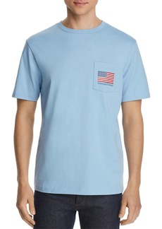 Vineyard Vines Party In The USA Graphic Pocket Tee