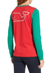 Vineyard Vines Party Whale Cotton Tee