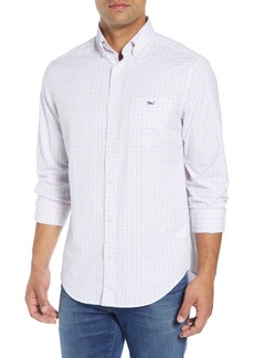 vineyard vines Pepperbush Regular Fit Plaid Sport Shirt