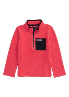 vineyard vines Performance Fleece Pullover (Toddler & Little Boy)
