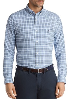 Vineyard Vines Performance Plaid Classic Fit Button-Down Shirt