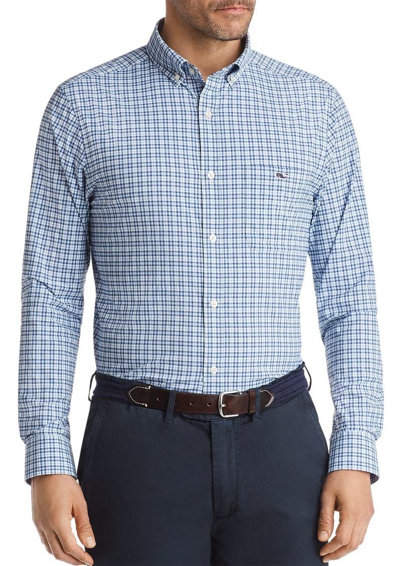 Vineyard Vines Performance Plaid Classic Fit Button-Down Shirt