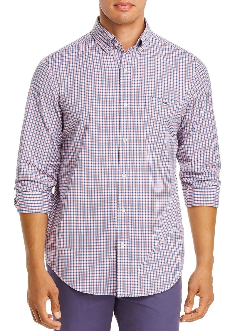Vineyard Vines Performance Plaid Twill Classic Fit Button-Down Shirt