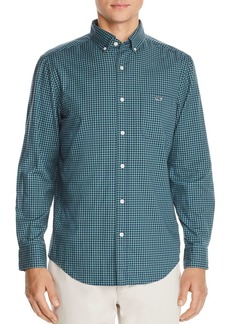 Vineyard Vines Pin Oak Tucker Gingham Classic Fit Button-Down Shirt