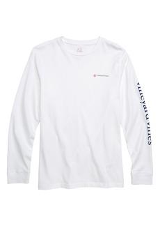 vineyard vines Breast Cancer Awareness Race T-Shirt (Big Boys)