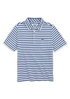 vineyard vines Pinstripe Jersey Polo (Toddler Boys, Little Boys & Big Boys)