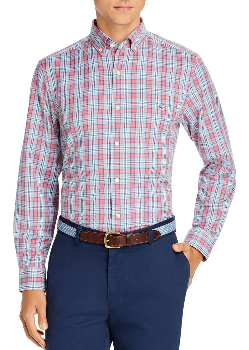 Vineyard Vines Plaid Performance Twill Classic Fit Button-Down Shirt