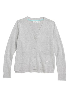vineyard vines Pocket Cardigan (Little Girls & Big Girls)