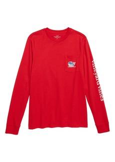 vineyard vines Pro Hockey Whale Pocket T-Shirt (Big Boys)