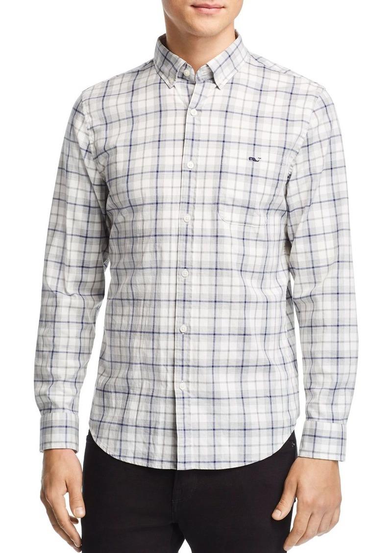 Vineyard Vines Putnum Cottage Tucker Plaid Slim Fit Button-Down Shirt