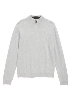 vineyard vines Quarter Zip Sweater (Big Boys)