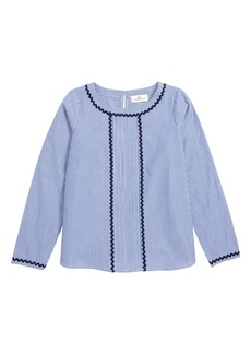 vineyard vines Rickrack Stripe Top (Toddler Girls, Little Girls & Big Girls)