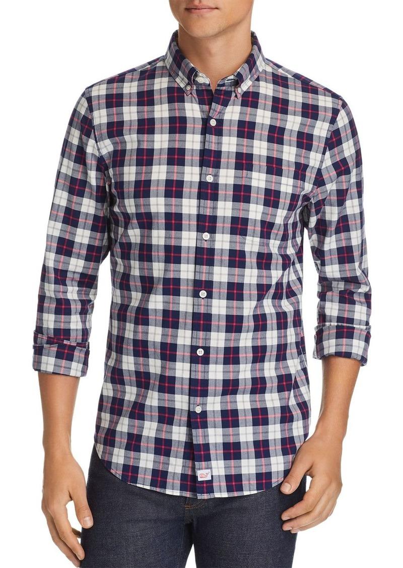Vineyard Vines Riverbank Plaid Slim Fit Button-Down Shirt