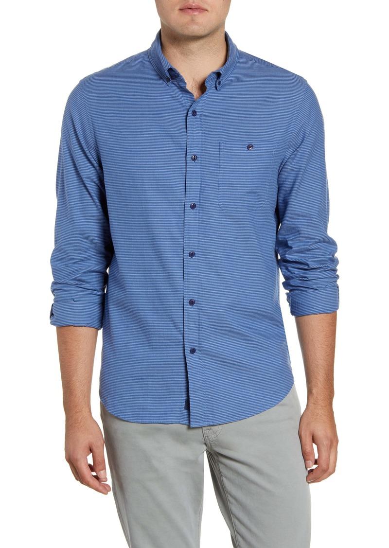 vineyard vines Riversdale Longshore Slim Fit Stripe Button-Down Shirt